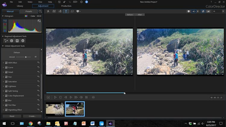 Cyberlink ColorDirector Free Download Color Grading Software