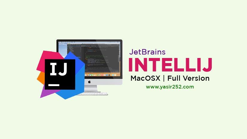 Download JetBrains Intellij 2019 MacOSX Full Version