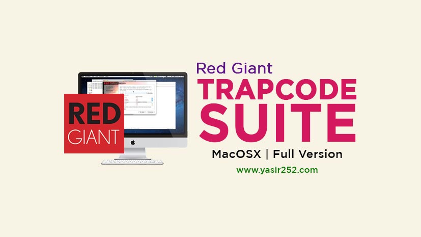 Download Trapcode Suite MacOSX Full Version