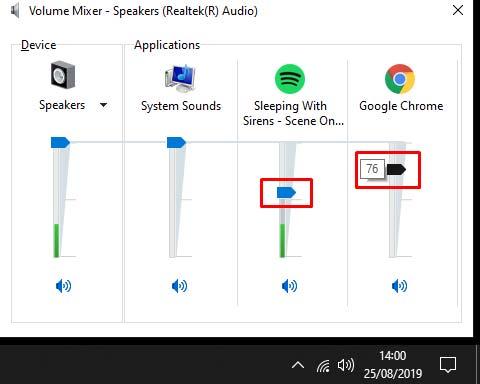 Mengatur Tingkat Volume Audio Game Software