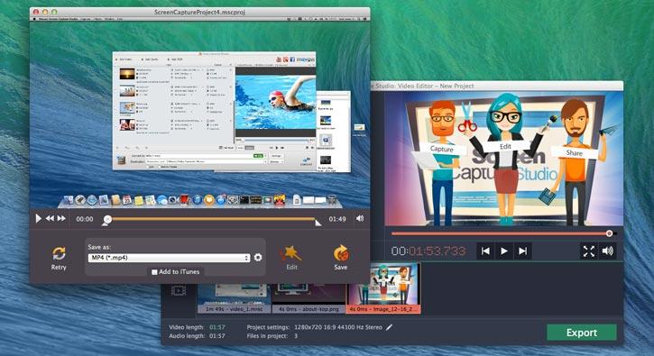 Movavi Screen Capture Pro MacOSX Free Download