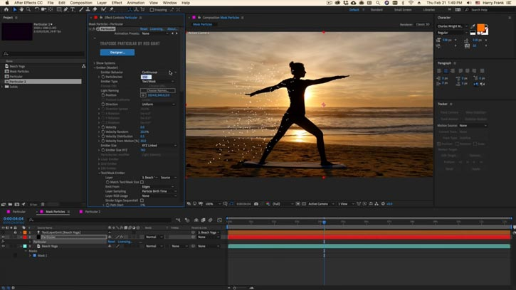Red Giant Trapcode Suite MacOSX Free Download
