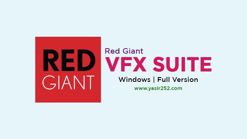 Red Giant VFX Suite Download Crack Full Version