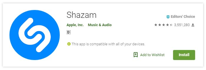 Shazam Music Audio Apps Android