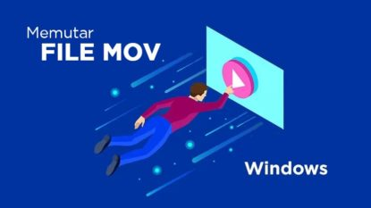Cara Memutar file MOV pada Windows