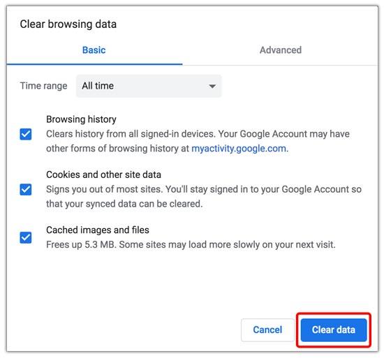 Membersihkan Riwayat Penelusuran Chrome