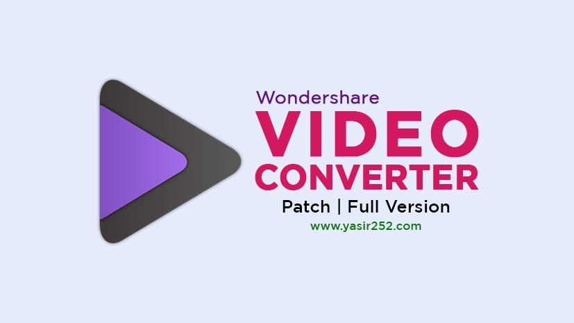 Download Wondershare Video Converter Full Crack