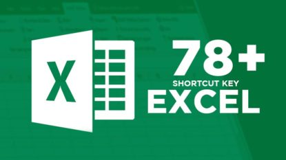Shortcut Keyboard Microsoft Excel Wajib