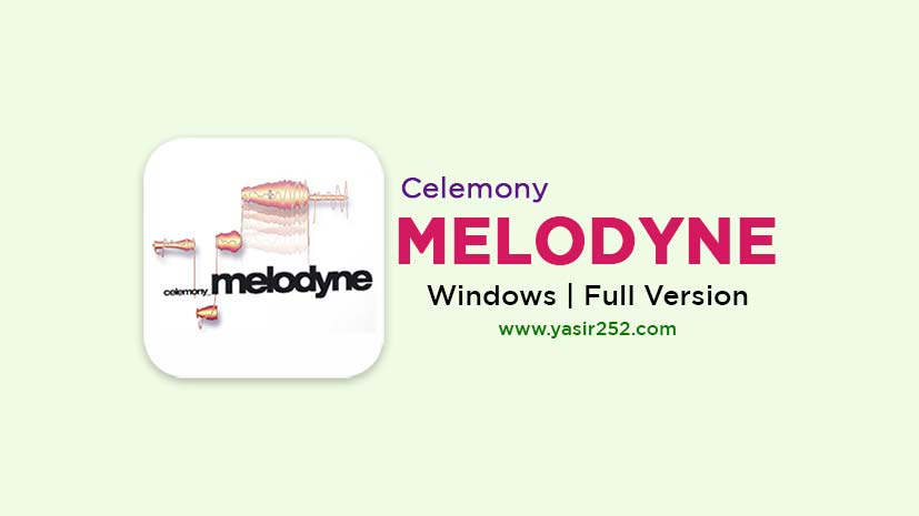 Melodyne Full Crack Free Download Windows