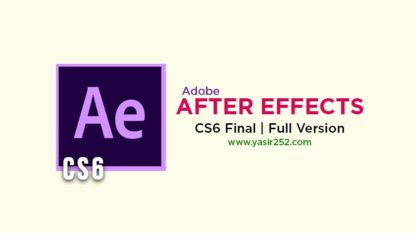 Adobe After Effects CS6 Free Download Full Version