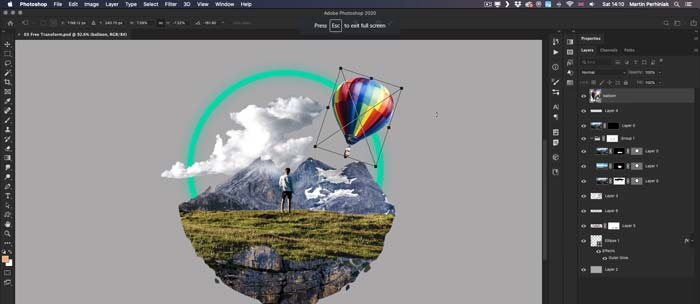 Adobe Photoshop CC 2020 MacOSX Free Download