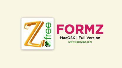 Download FormZ MacOSX Full Version Free