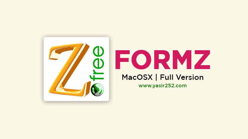 Download FormZ MacOSX Full Version Free