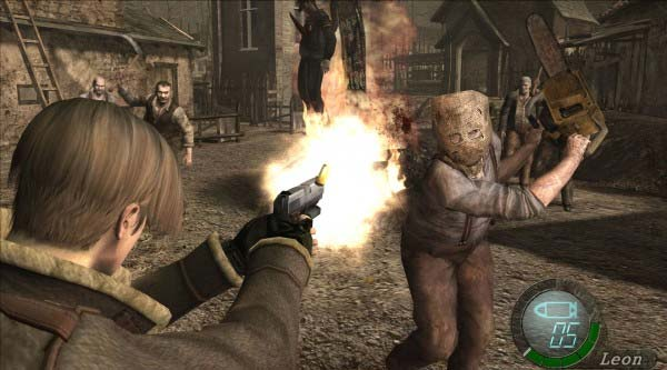 Free Download Game Resident Evil 4 HD Full