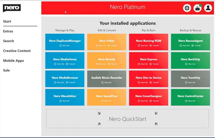 Nero Burning ROM 2020 Full Version Patch