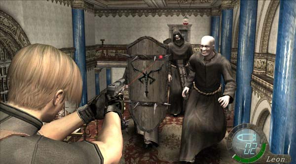 Shooting Zombie Resident Evil 4 Ultimate HD Edition