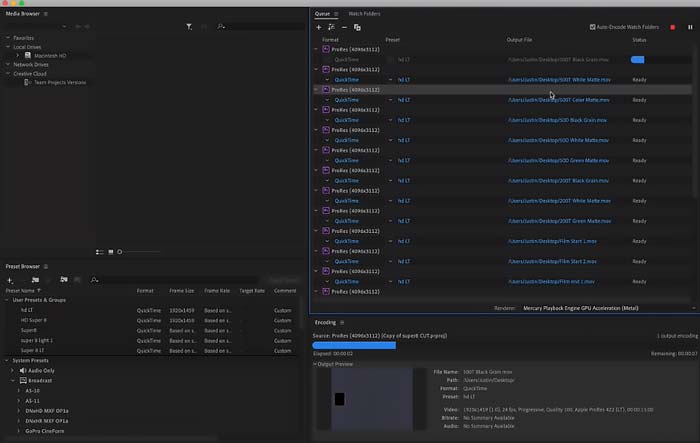 Adobe Media Encoder 2020 Mac Full Download