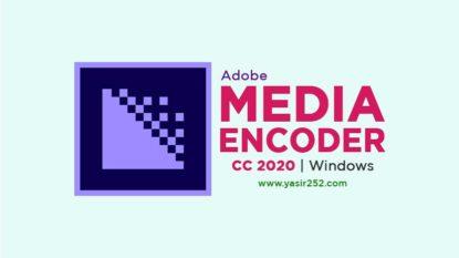 Download Adobe Media Encoder 2020 Full Version Windows