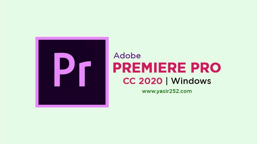 Adobe Premiere Pro CC 2020 Free Download Full Version