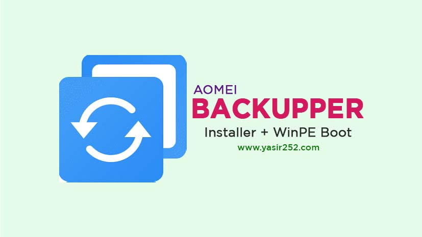 Download AOMEI Backupper Full Version Free Windows PC
