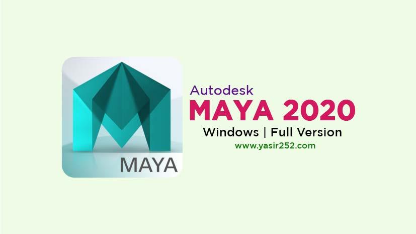 Autodesk Maya 2020 Free Download Full Version Windows 64 Bit
