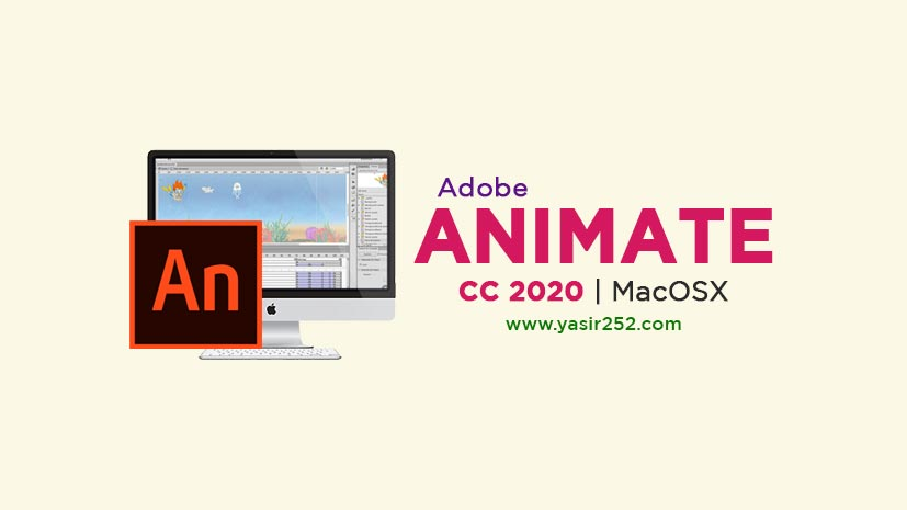 Adobe Animate CC 2020 MacOS Free Full Version Download