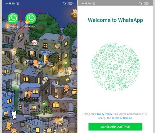 Hasil Akhir Dual Apps MIUI