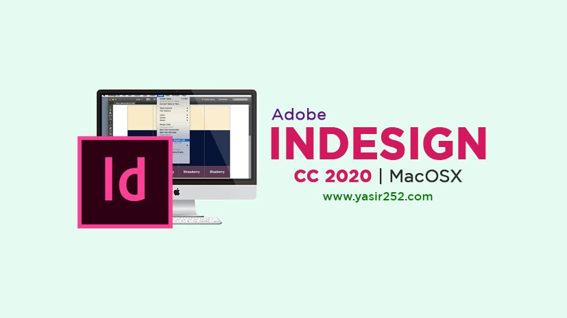Adobe InDesign 2020 MacOS Free Download Full Version