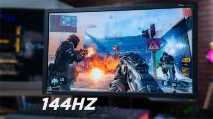 Monitor Gaming 144hz Terbaik Murah 2020
