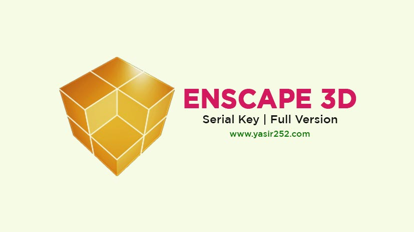 Download Enscape 3D Full Version Free Serial Key