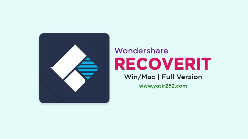 Wondershare Recoverit Free Download Full Version