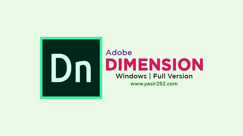 Adobe Dimension 2020 Full Free Download