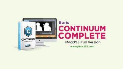 Download Boris Continuum Mac Full Version