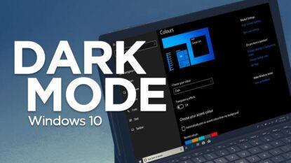 Cara Mengaktifkan Fitur Dark Mode Windows 10