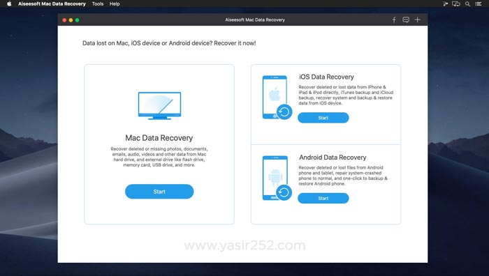 Aiseesoft Data Recovery Mac Free Download Crack