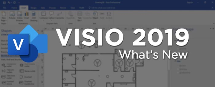 Microsoft Visio 2019 New Features Full Overview