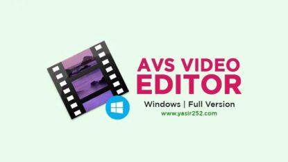 AVS Video Editor Free Download Full