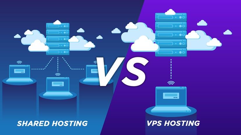 Perbedaan VPS Shared Hosting