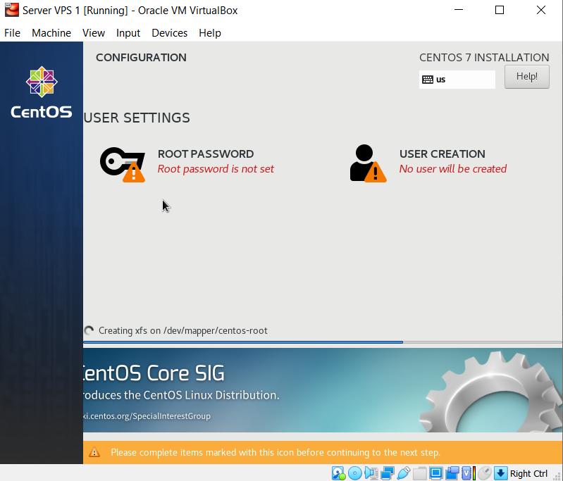 Membuat user password root untuk user centos 7