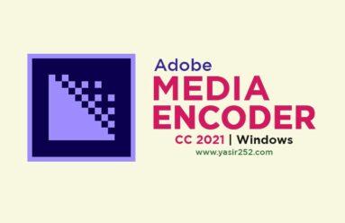 Download Adobe Media Encoder 2021 Full Version Windows
